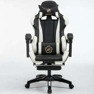 現貨賽車款電腦椅(升級升降扶手及可擱腳)