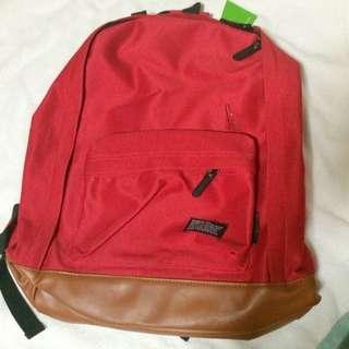 Velvet Material Red Bag