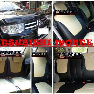 Mitsubishi Montero Leather Seat Cover