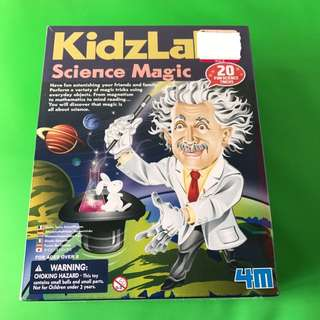 Kidslabs science magic 20 science tricks