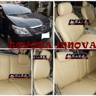 Toyota Innova Leather Seat Cover
