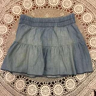 H&M女童牛仔短裙