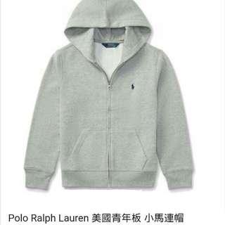 Ralph Lauren小馬美國 青年版 正品 連帽外套