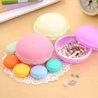 PREORDER macaron jewellery holder sd card organiser storage decor room travel medication colourful