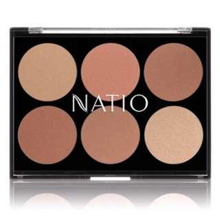 Natio glowing bronzer palette