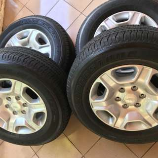 Stock Rims & Tires For Sale