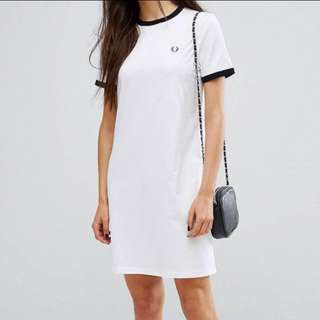 🚚 Fred Perry t-shirt dress 洋裝
