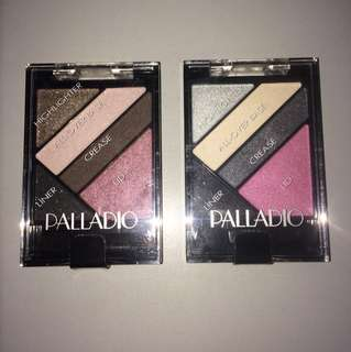 Palladio eye shadow/SILK FX/all in