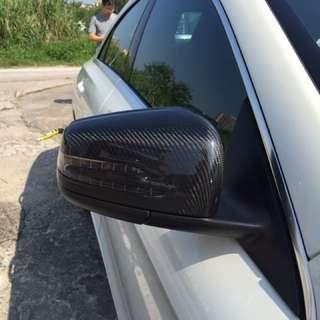 Benz CLA A250 W204 碳纖鏡殻