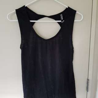 Activewear singlet / Open back