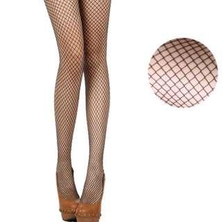 [SET OF 3] fishnet mesh socks