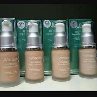 Wardah exclusive liquid fondation