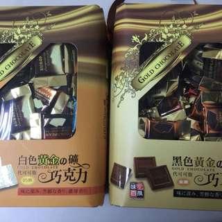 白色黃金之礦歐式代可可脂巧克力 黑色黃金之礦歐式代可可脂巧克力 620g 馬來西亞製 巧克力