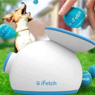 Clearance iFetch Automatic Ball Launcher / Pet Toy / Dog toys / Automatic ball throwing / Dog goods / Dog cat
