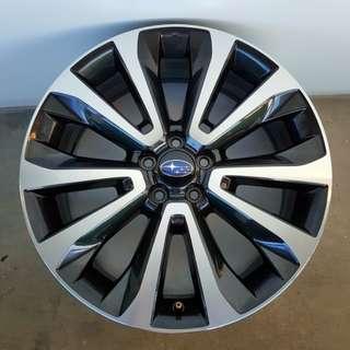 "Subaru Forester XT Enkei 18"" Rims"
