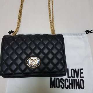 ❤ AUTHENTIC PRELOVED LOVE MOSCHINO (PRICE REVISED)