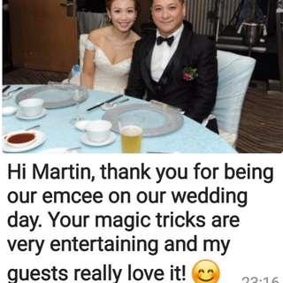 SG Best Wedding Magician Emcee