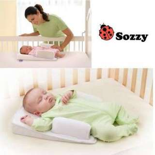 Sossy comfortable baby sleeping pad pillow Baby Infant Newborn Sleep Anti Roll Pillow shaping pillow