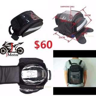 Last piece clearance Tank Bag TankBag backpack back pack bag water proof waterproof haversack