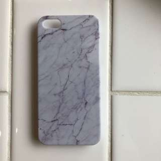 iPhone 5 marble case