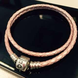 Original Pandora Leather Double Bracelet