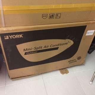 York Airconditioner 1.0 HP