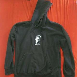 Hoodie Based Club Viva Hate Black size L