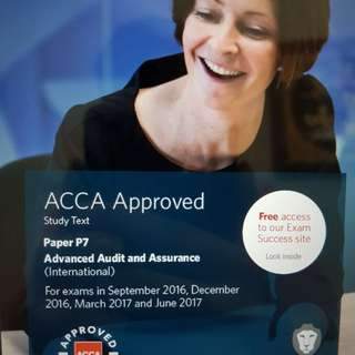 (Pm me for other papers) Cheapest ACCA P7 study material 2017 and revision kit 2017