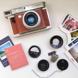 💜 Lomography Lomo'Instant Wide Central Park Camera & Lenses
