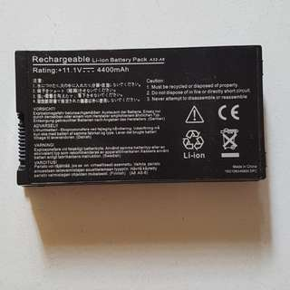 Removable Battery for Asus laptop