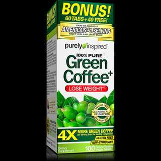 Purely Inspired® Green Coffee Bean