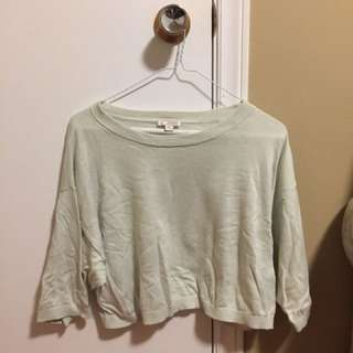GAP Light Green Crop Top