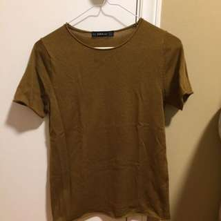 Zara Knit T-shirt