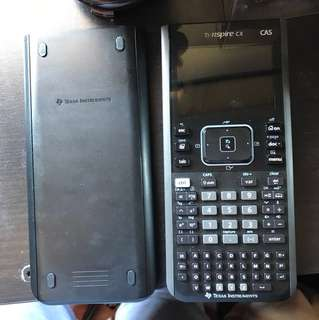 Texas Instruments TI-Nspire CX CAS Calculator with charger