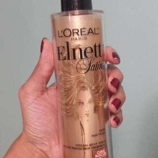 Brand new L'oreal Elnett Satin Styling Heat Spray