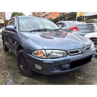 proton wira 1.5 sedan (manual) new paint 4 new tayar 1997/98
