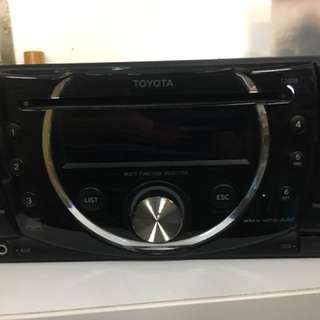 Toyota CD player