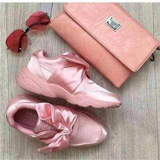 Sepatu Wanita Murah Sneakers Puma Bow