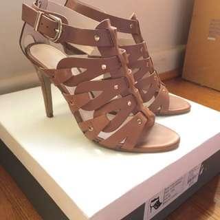 Witchery leather SHAYLA heels