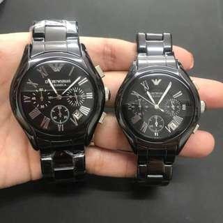 E M P O R I O Armani Ceramica Couple Watch