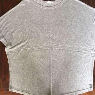 Grey loose blouse