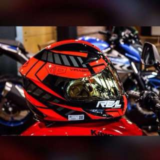 🎯Full face #Real Helmet (Virago)