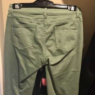 Country Road army colour pants