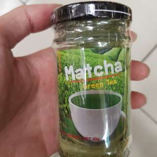Chatramue matcha green tea powder 40g glass bottle