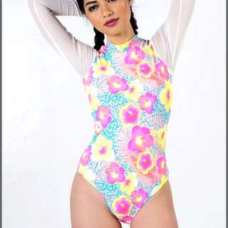 NEW Cesa Mesh Onepiece Maillot swimsuit