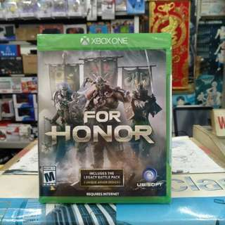 🆕 Xbox One For Honor