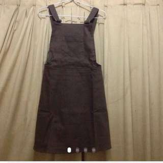 new dress overall soft denim