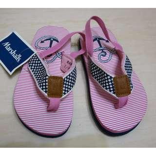 Tommy Hilfiger 粉色女童拖鞋