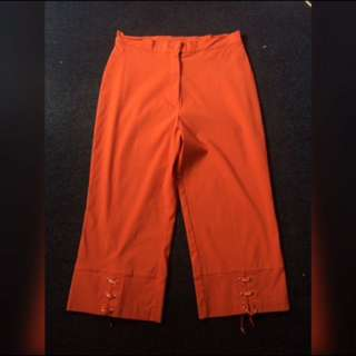 macjay orange pants