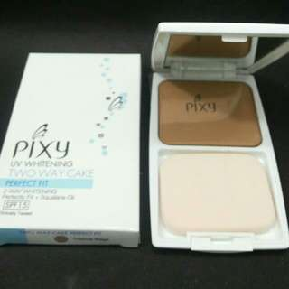 👍PIXY Two Way Cake Powder